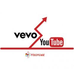 50000 views Vevo per video su YouTube