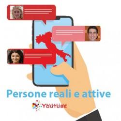 Comprare commenti youtube italiani veri